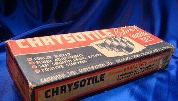 Giảm thiểu tiềm năng sinh học của amiăng chrysotile phát sinh từ các điều kiện sửa chữa đệm phanh